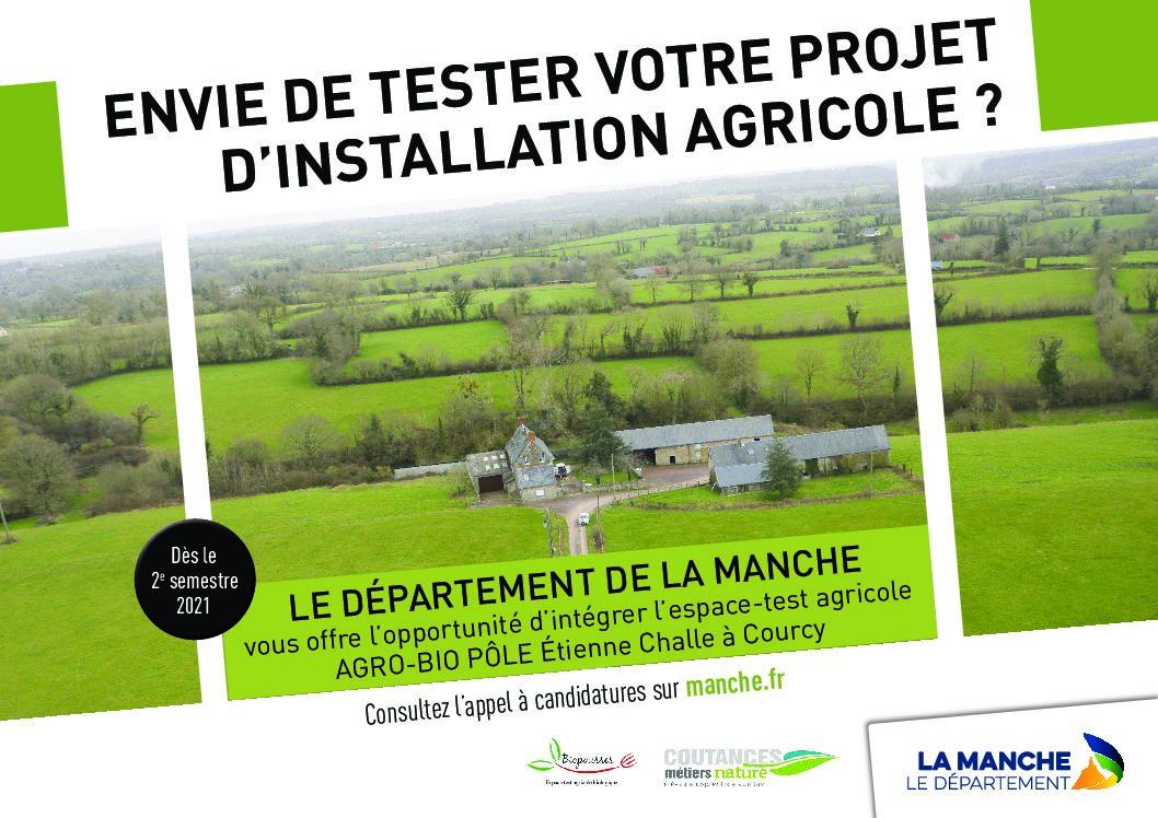 CRÉATION D'UN ESPACE TEST AGRICOLE BIOLOGIQUE À COURCY